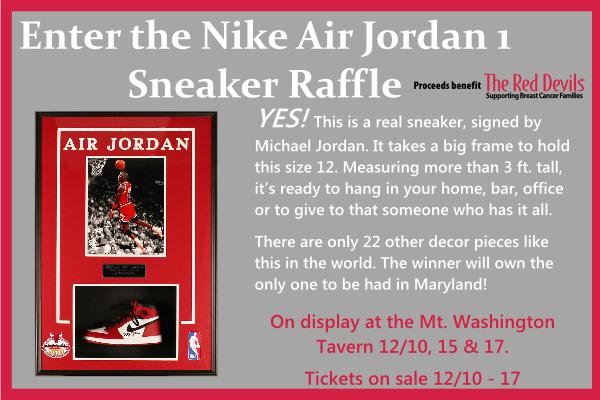 Nike Air Jordan 1 Raffle - The Red
